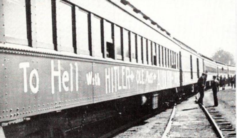 MSU train 1940
